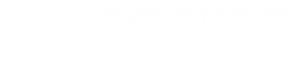 Scott Enterprises' company logo in white and transparent.